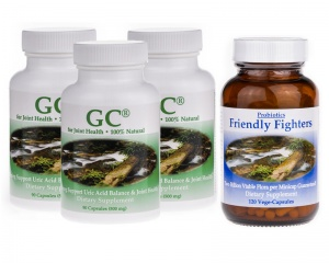 `GoutCare and Probiotics - 3 months supply