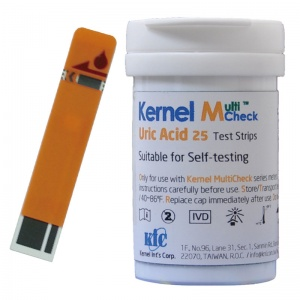 Test Strips - Uric Acid  (25) for use with either meter.