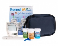 Uric Acid, Glucose and Cholesterol Meter Kit.